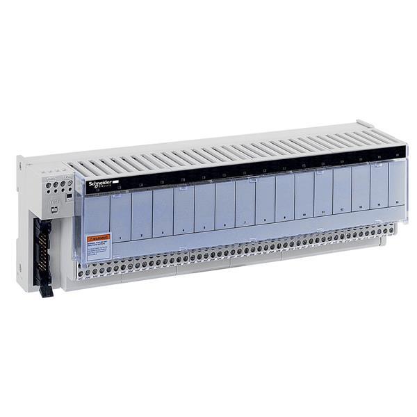 TELEMECANIQUE - embase - relais électromagnétiques soudés ABE7 - 16 voies - relais 10 mm