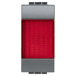 BTICINO - Voyant Living avec diffuseur rouge luminable