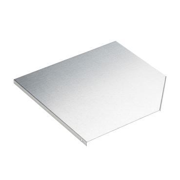 STAGOBEL - Couvercle pour pièce d'angle Tôle d'acier galvanisée Sendzimir, Largeur: 120 mm