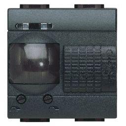 BTICINO - Interrupteur passif IR Living 230V 6A - avec détecteur de mouvement - 2 modules