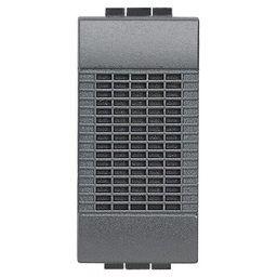 BTICINO - Sonnerie Living - 12 V - 5 VA - 80 dB - 1 module