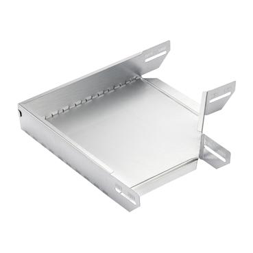 STAGOBEL - Pièce d'angle Tôle d'acier galvanisée Sendzimir, hauteur 60 mm Largeur: 200 mm