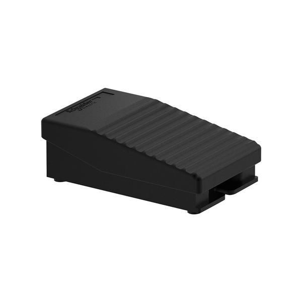 TELEMECANIQUE - Interrupteur à pied simple XPE-A - sans capot - plastique - noir - 1O+1F