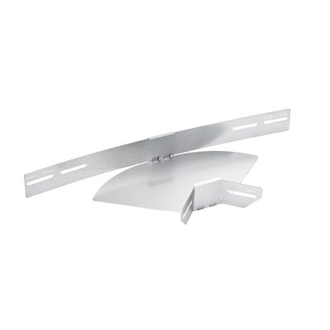 STAGOBEL - Pièce d'angle réglable Tôle d'acier galvanisée Sendzimir, H: 60 mm L: 200 mm