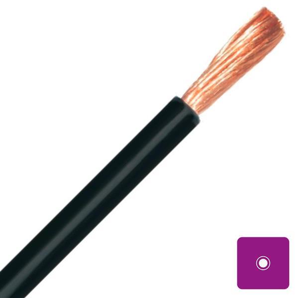 CABLEBEL - H01N2-D CTSB/N câble de soudage souple noir caoutchouc 50mm²