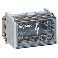 LEGRAND - Modulaire verdeelklem 2p 100A 7 klemmen - 20 kA - 4 modules