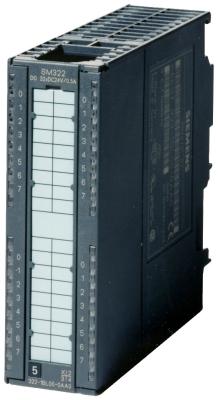 SIEMENS - SIMATIC S7-300, DIGITAL OUTPUT SM 322, OPTICALLY ISOLATED, 32DO, 24V DC, 0.5A, 1
