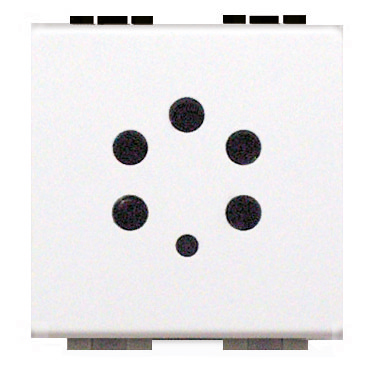 BTICINO - Stopcontact Light Belgacom - 5-pins aansluiting - 2 modules