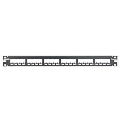 PANDUIT - 24-port all metal modular patch panel empty 1U