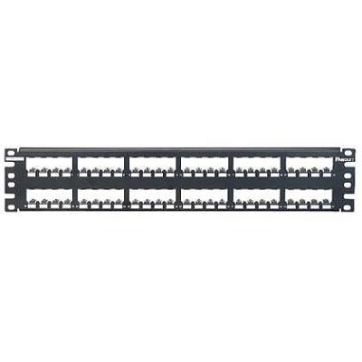 PANDUIT - 48-port all metal modular patch panel empty 2U