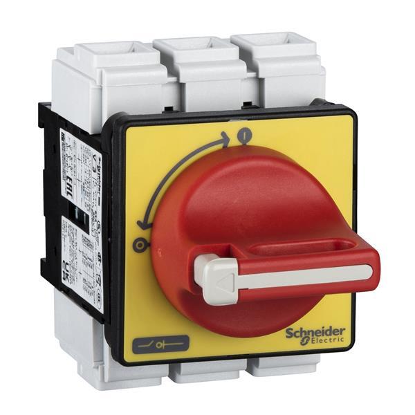TELEMECANIQUE - Interrupteur-sectionneur VCF - 3P - 690V 63A - poignée rouge cadenassable