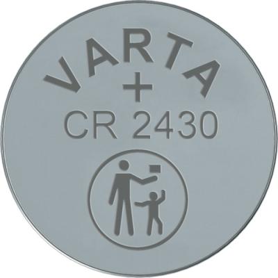 VARTA - ELECTRONICS knopcellen CR2430 Lithium 3volt 280mAh blister1