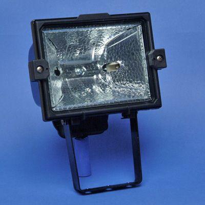 TECHNOLUX - Projecteur à halogènes étanches R7s 200/500W noir