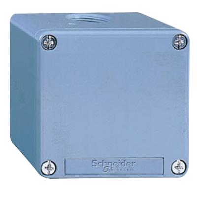 TELEMECANIQUE - Boîte à boutons vide - XAP-M - métallique - sans perçage - 80x80x49mm