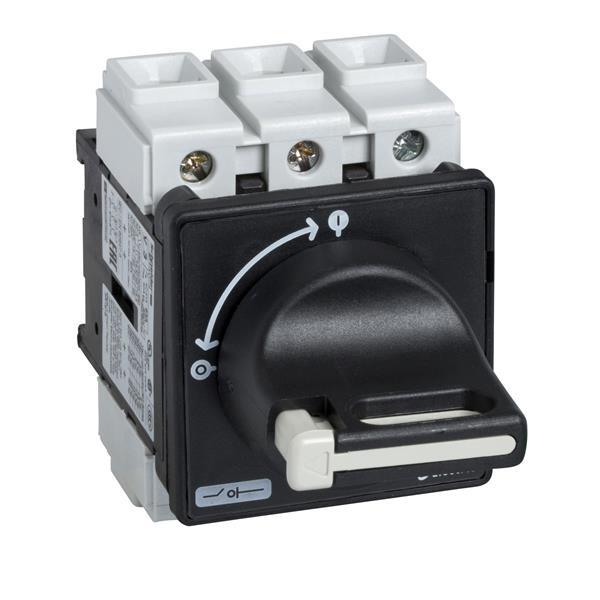TELEMECANIQUE - Interrupteur-sectionneur VBF - 3P - 690V 63A - poignée noire cadenassable