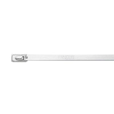 PANDUIT - Stainless steel cable tie, standard, 4'' (102mm) max bundle diameter.
