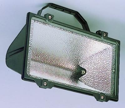TECHNOLUX - Projecteur à halogène 1500W R7s excl lampe alu moulé noir IP65 verre de sécurité