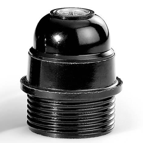 HUPPERTZ - Socket bakelite E27 noir