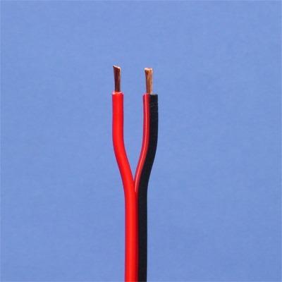 CABLES SPECIAUX - Fil haut-parleur rouge-noir 2X 2,5mm² rouleau