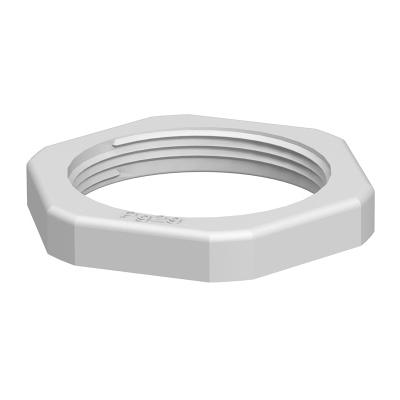 OBO BETTERMANN - Contre-écrou 116/PG21 polyamide gris clair