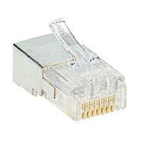 LEGRAND - Fiche RJ 45 cat. 5 câble rond 8 contacts - largeur 11,7 mm