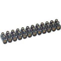 LEGRAND - Barrette Nylbloc - cap. 25 mm² 101A maxi - noir - 214x33x27,5