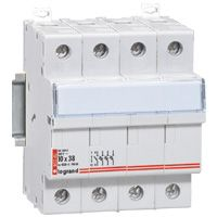 LEGRAND - Scheider voor smeltpatroon 3p+n 8,5x31,5 400 V - Lexic - 4 modules