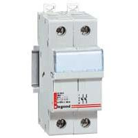 LEGRAND - Scheider voor smeltpatroon 2p 10x38mm 500 V - Lexic - 2 modules
