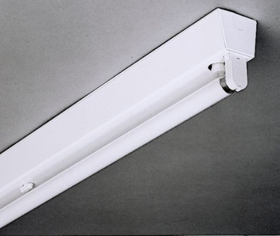 TECHNOLUX - Réglette T8 1x18W ind VVG base rigide blanc IP20