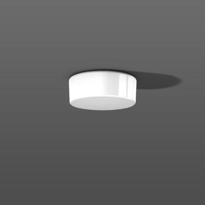 RZB - Wand-/plafondarmatuur DKN-Kreis, seidenglanz A60/60W,E27 D250,H100,DKN