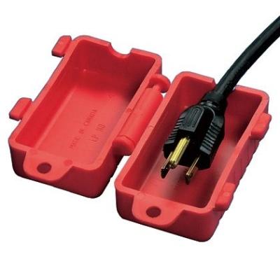 PANDUIT - 240 - 480 Volt AC Cord Lockout Device, Red.