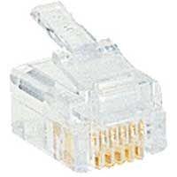 LEGRAND - Fiche RJ 12 pour câble rond 6 contacts - largeur 9,65 mm