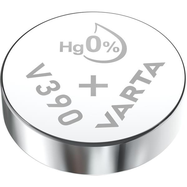 VARTA - Watch piles pour montres SR54 V390 argent 1,55volt 80mAh blister1
