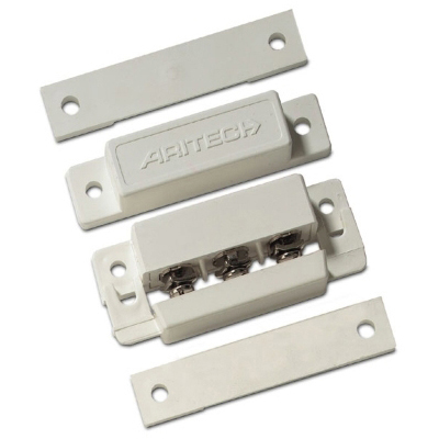 UTC Fire & Security - 18mm / gesloten lus / standaard magneetcontact, schroefaansluiting INCERT N° : B