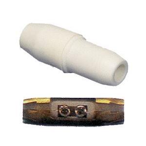 ELIMEX BVBA - Afgeschermde coaxiale inline koppeling - Plastiek  1 SET VAN 10 STUKS