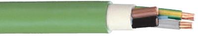 CABLEBEL - XGB câble d'installation F2 sans halogène 1KV vert 4G1,5mm²