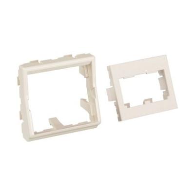PANDUIT - Mini Com 45x45 module, wit, 2 posities, rechte opstelling