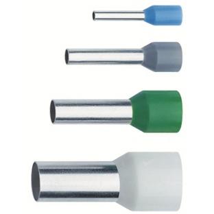 NUSSBAUMER - Kabelschoen geïsoleerde adereindhuls Franse kleurencode 16mm² 12mm koper