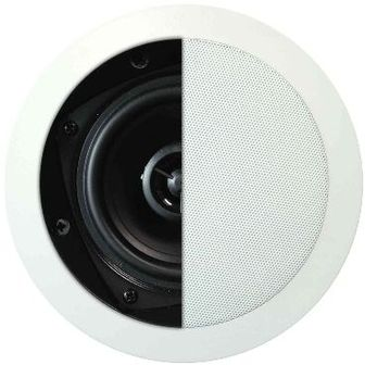 House Of Music - MDC620, basic, haut-parleur encastrable 2 voies, rond, 80W, blanc (2pc)