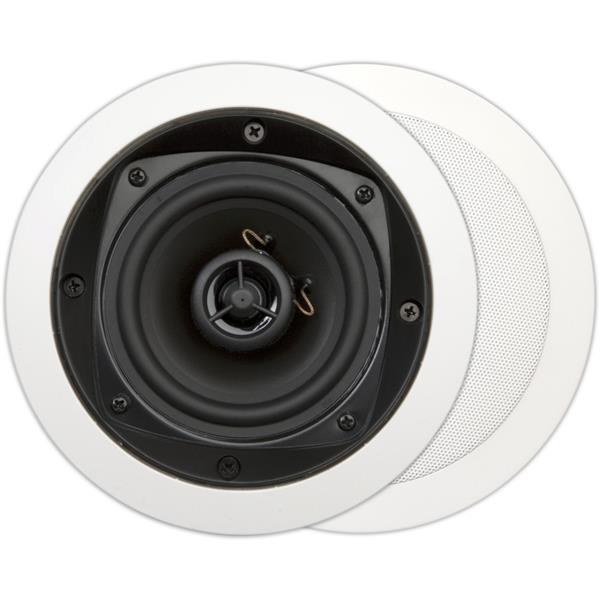 House Of Music - MDC620, basic, 2-weg inbouw luidspreker, rond, 80W, wit (2pc)