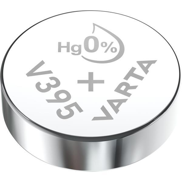 VARTA - Watch piles pour montres SR57 V395 argent 1,55volt 42mAh blister1