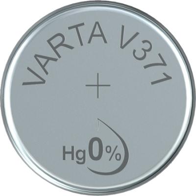VARTA - WATCH piles pour montres SR69 V371 argent 1,55volt 44mAh blister1