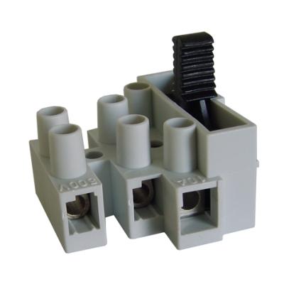 HUPPERTZ - Raccord porte-fusible 5x20 3 poles