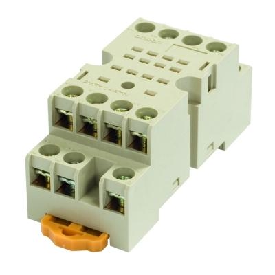 OMRON - Socle pour relais MY4 et minuterie H3Y(N)-4