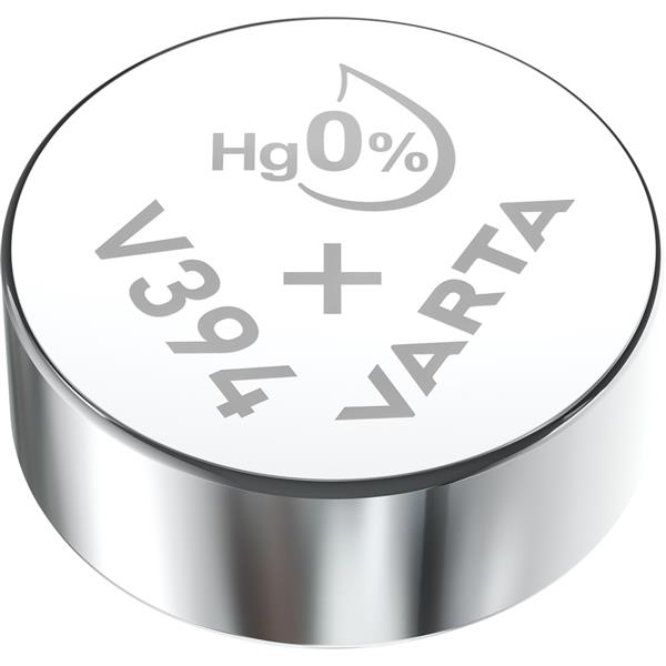 VARTA - Watch piles pour montres SR45 V394 argent 1,55volt 67mAh blister1