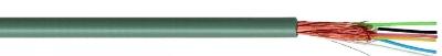 SPECIALE KABELS - Microfoon multi mantel PVC isolatie PVC geleider afscherming CU wendel 4x0,08mm²