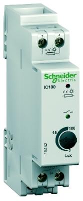 MERLIN GERIN - IC 100 - interrupteur crépusculaire - 2 à 100 lux - avec cellule murale