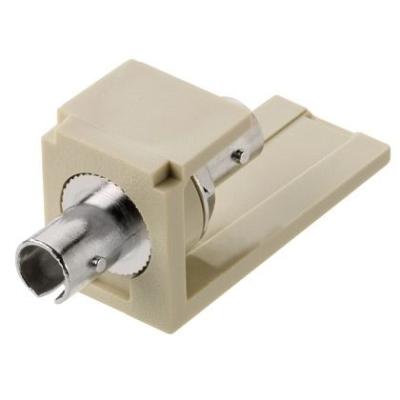 PANDUIT - ST Glasvezel adapter module Multi/Single-mode, wit