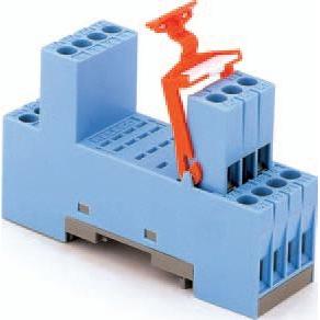 Multiprox - Sokkel relais 4x wisselcontact