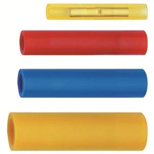 NUSSBAUMER - Verbinder 0,5-1mm² isolatie PA rood